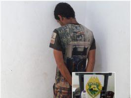 Polícia Militar prende jovem após ele furtar residência no Santa Terezinha  em Castro. 0fd0396b9b971